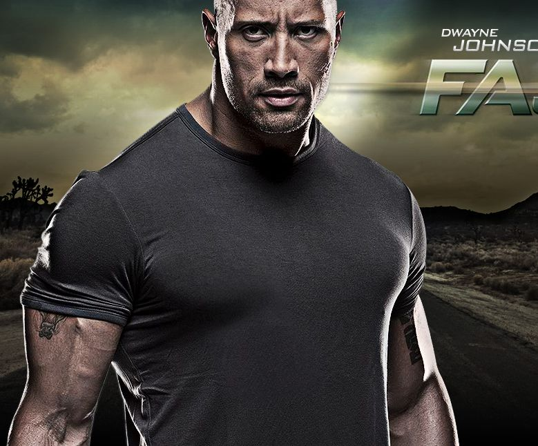 WWE The Rock Dwayne Johnson